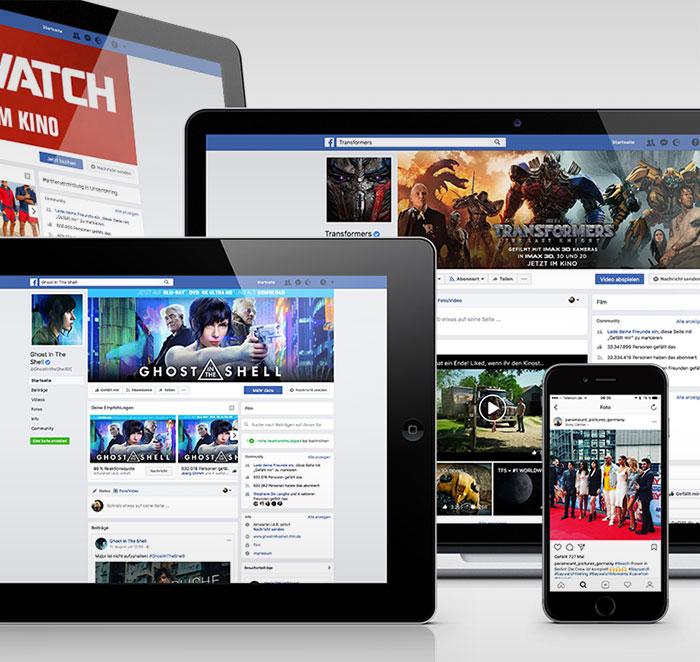 Social Media - Paramount